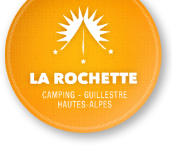 Logo camping la rochette