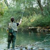 Découvrez la pêche sur les rivières du Guil ou de la Durance lors de votre séjour dans les Hautes-Alpes.